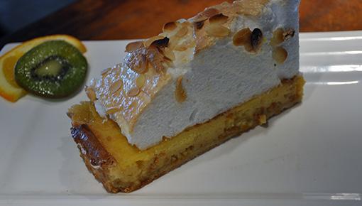 Tarte au citron meringuée maison