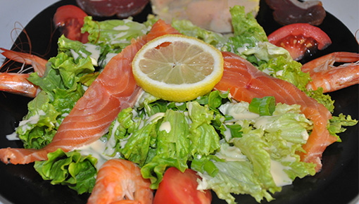Petite salade terre et mer